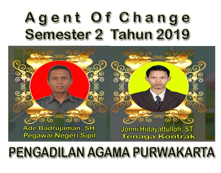 Agent Of Change Semester 2